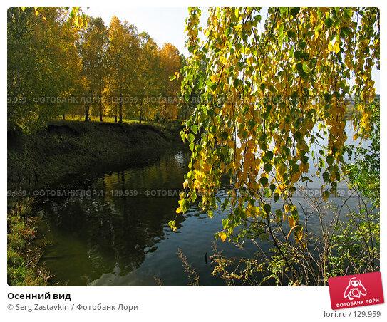 Купить «Осенний вид», фото № 129959, снято 19 сентября 2004 г. (c) Serg Zastavkin / Фотобанк Лори