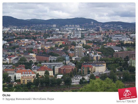 Осло (2008 год). Стоковое фото, фотограф Эдуард Финовский / Фотобанк Лори