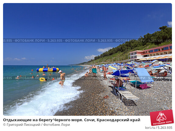Отдых на берегу черного моря краснодарский край
