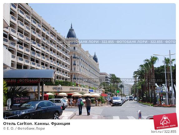 Отель Carlton. Канны. Франция, фото № 322855, снято 13 июня 2008 г. (c) Екатерина Овсянникова / Фотобанк Лори