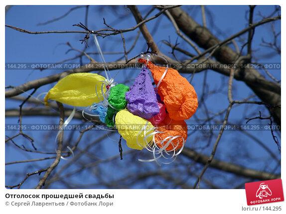 Отголосок прошедшей свадьбы, фото № 144295, снято 12 марта 2004 г. (c) Сергей Лаврентьев / Фотобанк Лори