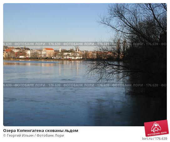 Озера Копенгагена скованы льдом, фото № 176639, снято 31 декабря 2007 г. (c) Георгий Ильин / Фотобанк Лори