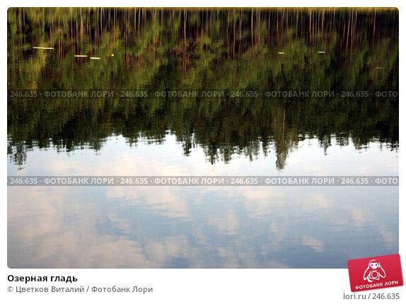 Озерная гладь, фото № 246635, снято 6 сентября 2007 г. (c) Цветков Виталий / Фотобанк Лори