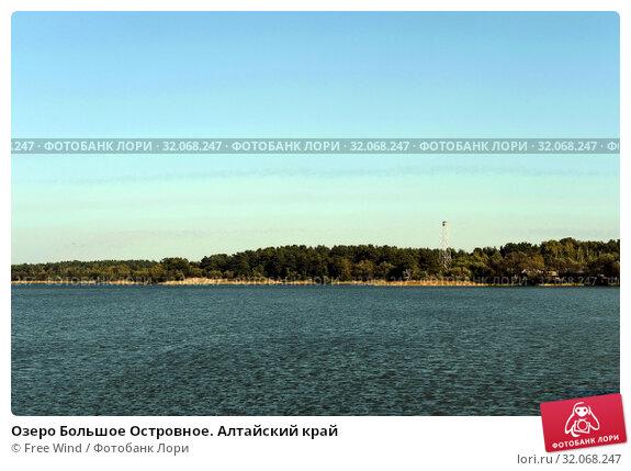 Озеро Большое Островное. Алтайский край. Стоковое фото, фотограф Free Wind / Фотобанк Лори