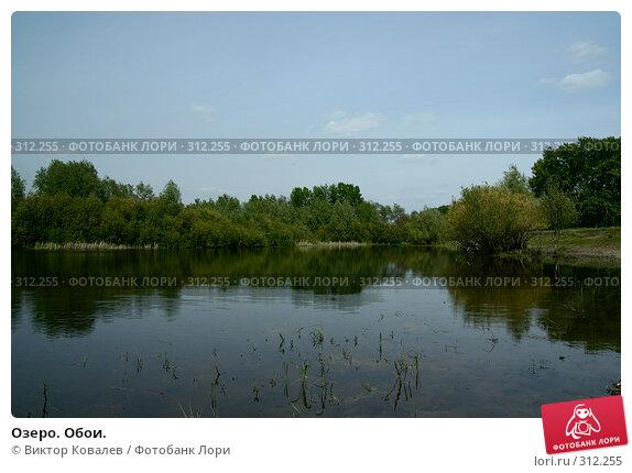 Озеро. Обои., фото № 312255, снято 27 мая 2008 г. (c) Виктор Ковалев / Фотобанк Лори