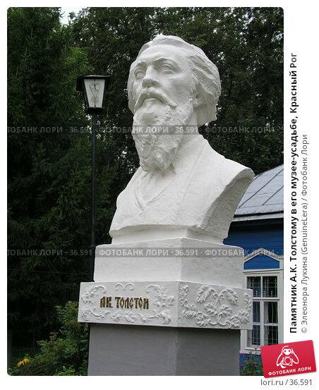 Памятник А.К. Толстому в его музее-усадьбе, Красный Рог, фото № 36591, снято 21 июня 2017 г. (c) Элеонора Лукина (GenuineLera) / Фотобанк Лори
