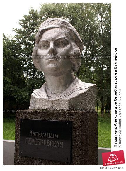 Памятник Александре Серебровской в Балтийске, фото № 266047, снято 24 июля 2007 г. (c) Валерий Шанин / Фотобанк Лори