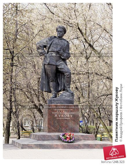 Памятник маршалу Жукову, фото № 248323, снято 11 апреля 2008 г. (c) Андрей Ерофеев / Фотобанк Лори