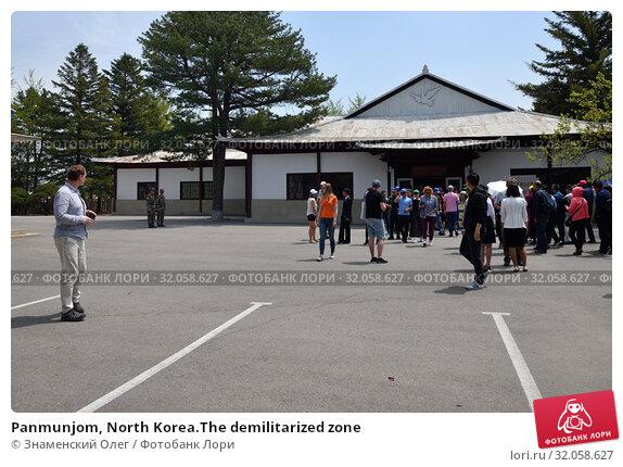 Panmunjom, North Korea.The demilitarized zone (2019 год). Редакционное фото, фотограф Знаменский Олег / Фотобанк Лори