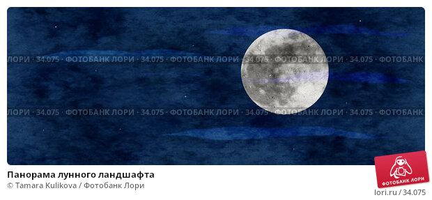 Панорама лунного ландшафта, фото № 34075, снято 28 октября 2016 г. (c) Tamara Kulikova / Фотобанк Лори