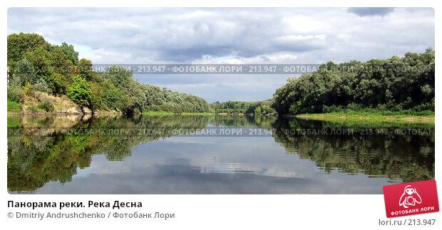 Панорама реки. Река Десна, фото № 213947, снято 3 сентября 2007 г. (c) Dmitriy Andrushchenko / Фотобанк Лори