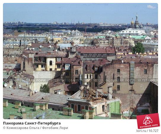 Панорама Санкт-Петербурга, фото № 10727, снято 23 июля 2006 г. (c) Комиссарова Ольга / Фотобанк Лори