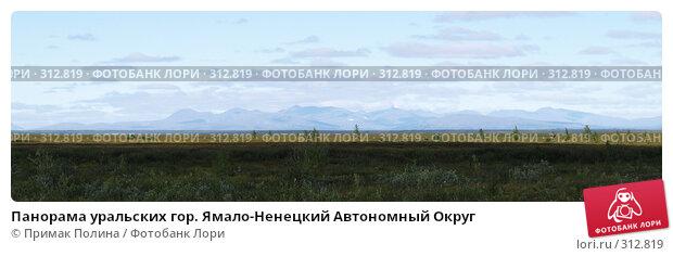 Панорама уральских гор. Ямало-Ненецкий Автономный Округ, фото № 312819, снято 26 июля 2017 г. (c) Примак Полина / Фотобанк Лори
