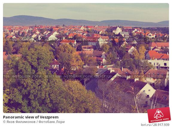 Купить «Panoramic view of Veszprem», фото № 28917939, снято 2 ноября 2017 г. (c) Яков Филимонов / Фотобанк Лори