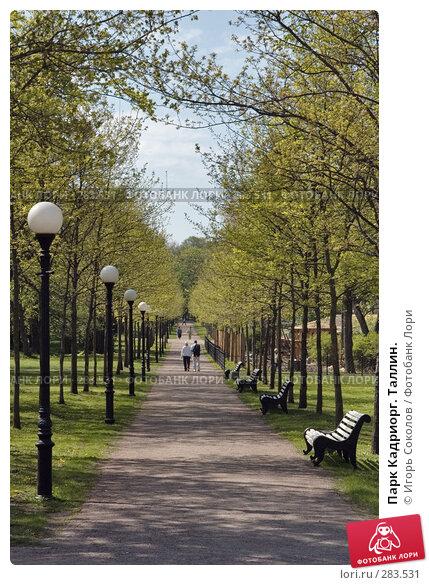 Парк Кадриорг. Таллин., фото № 283531, снято 11 мая 2008 г. (c) Игорь Соколов / Фотобанк Лори