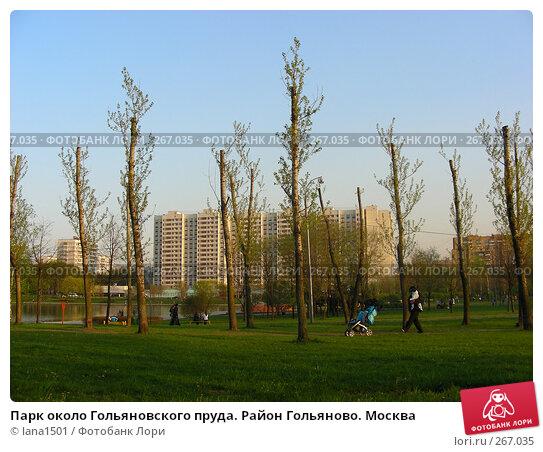 Парк около Гольяновского пруда. Район Гольяново. Москва, эксклюзивное фото № 267035, снято 28 апреля 2008 г. (c) lana1501 / Фотобанк Лори