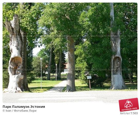 Парк Паламузе.Эстония, фото № 7503, снято 6 августа 2006 г. (c) Ivan / Фотобанк Лори