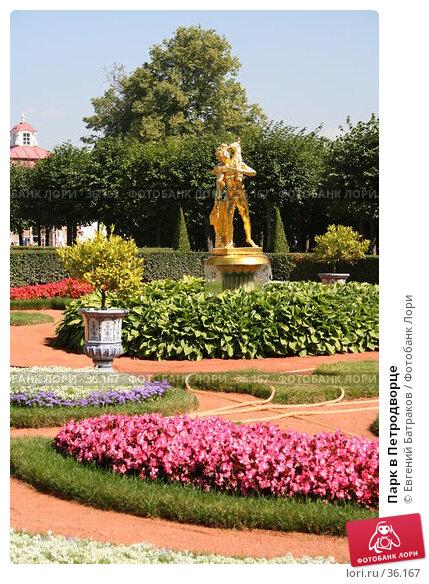 Купить «Парк в Петродворце», фото № 36167, снято 8 августа 2006 г. (c) Евгений Батраков / Фотобанк Лори