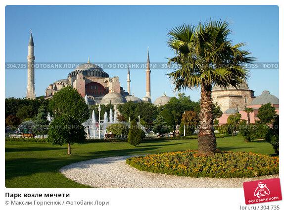 Купить «Парк возле мечети», фото № 304735, снято 23 мая 2006 г. (c) Максим Горпенюк / Фотобанк Лори