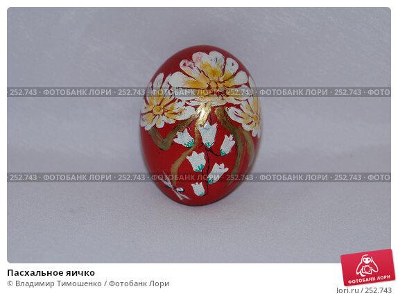 Купить «Пасхальное яичко», фото № 252743, снято 15 апреля 2008 г. (c) Владимир Тимошенко / Фотобанк Лори