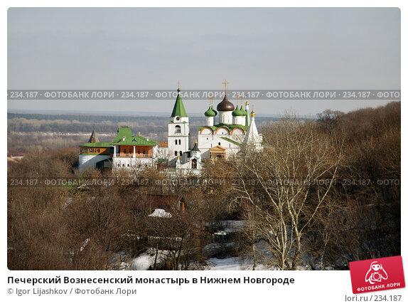 Печерский Вознесенский монастырь в Нижнем Новгороде, фото № 234187, снято 24 марта 2008 г. (c) Igor Lijashkov / Фотобанк Лори