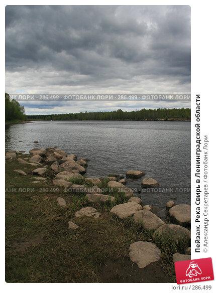 Пейзаж. Река Свирь в Ленинградской области, фото № 286499, снято 13 мая 2008 г. (c) Александр Секретарев / Фотобанк Лори