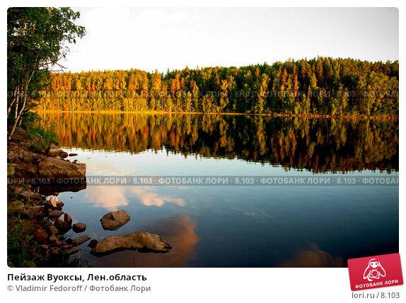 Пейзаж Вуоксы, Лен.область, фото № 8103, снято 23 октября 2016 г. (c) Vladimir Fedoroff / Фотобанк Лори