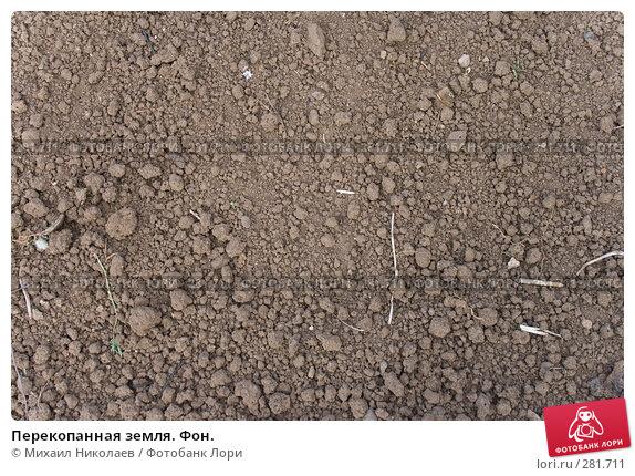 Купить «Перекопанная земля. Фон.», фото № 281711, снято 11 мая 2008 г. (c) Михаил Николаев / Фотобанк Лори