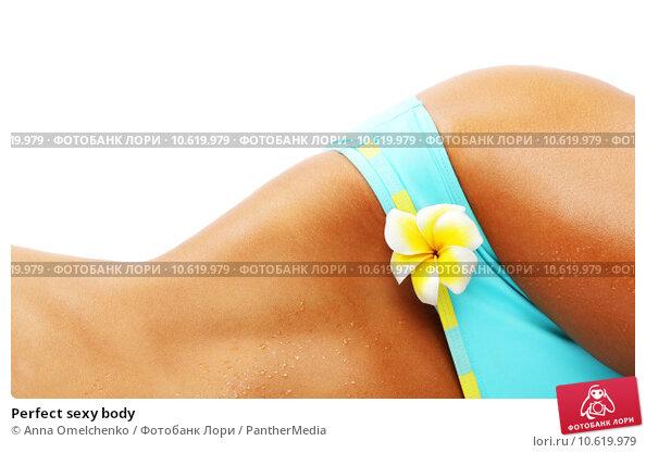 Perfect sexy body. Стоковое фото, фотограф Anna Omelchenko / PantherMedia / Фотобанк Лори