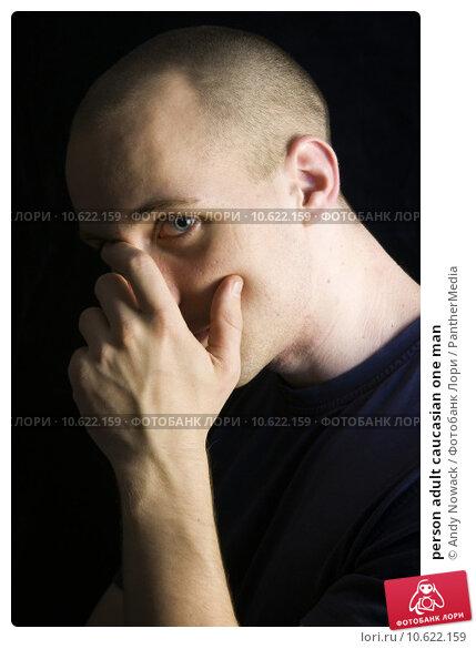 person adult caucasian one man. Стоковое фото, фотограф Andy Nowack / PantherMedia / Фотобанк Лори