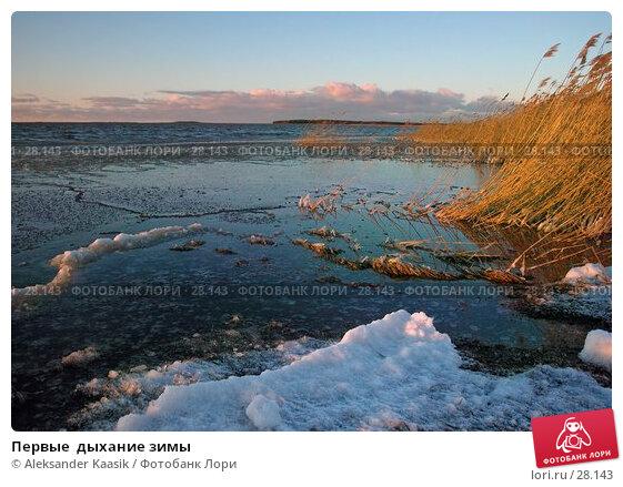 Первые  дыхание зимы, фото № 28143, снято 21 декабря 2004 г. (c) Aleksander Kaasik / Фотобанк Лори