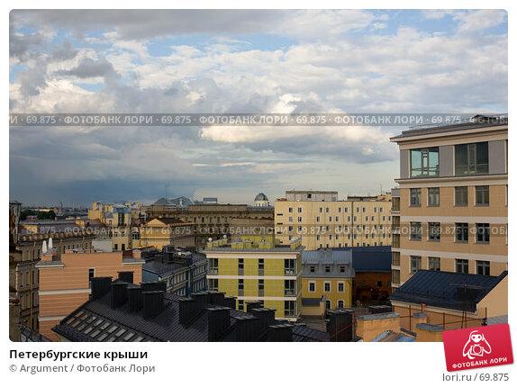 Петербургские крыши, фото № 69875, снято 19 июня 2007 г. (c) Argument / Фотобанк Лори