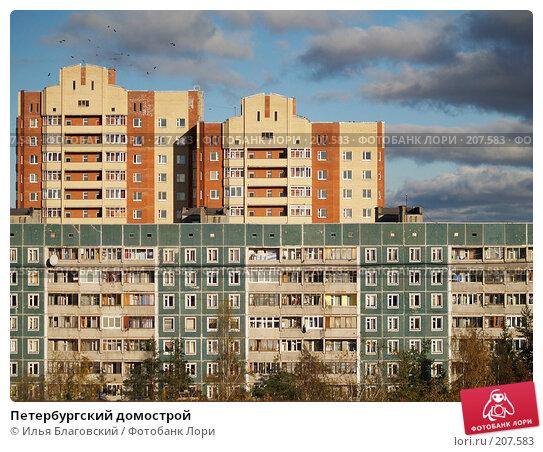 Петербургский домострой, фото № 207583, снято 20 октября 2007 г. (c) Илья Благовский / Фотобанк Лори