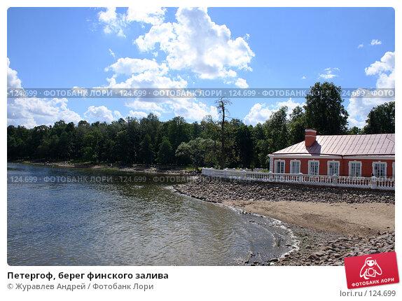 Петергоф, берег финского залива, эксклюзивное фото № 124699, снято 23 июля 2007 г. (c) Журавлев Андрей / Фотобанк Лори