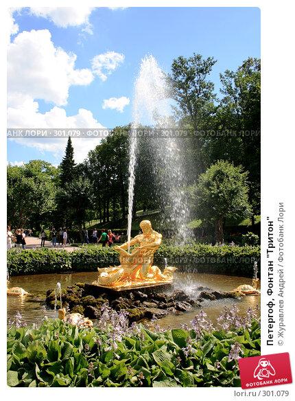 """Петергоф, Фонтан """"Тритон"""", фото № 301079, снято 23 июля 2007 г. (c) Журавлев Андрей / Фотобанк Лори"""