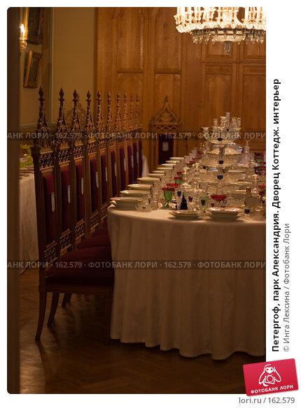 Купить «Петергоф, парк Александрия. Дворец Коттедж. интерьер», фото № 162579, снято 30 июня 2007 г. (c) Инга Лексина / Фотобанк Лори