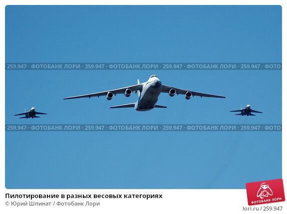 Купить «Пилотирование в разных весовых категориях», фото № 259947, снято 22 апреля 2008 г. (c) Юрий Шпинат / Фотобанк Лори