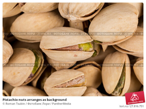 Купить «Pistachio nuts arranges as background», фото № 27816751, снято 22 апреля 2019 г. (c) PantherMedia / Фотобанк Лори