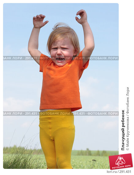 Плачущий ребенок, фото № 291431, снято 18 мая 2008 г. (c) Майя Крученкова / Фотобанк Лори