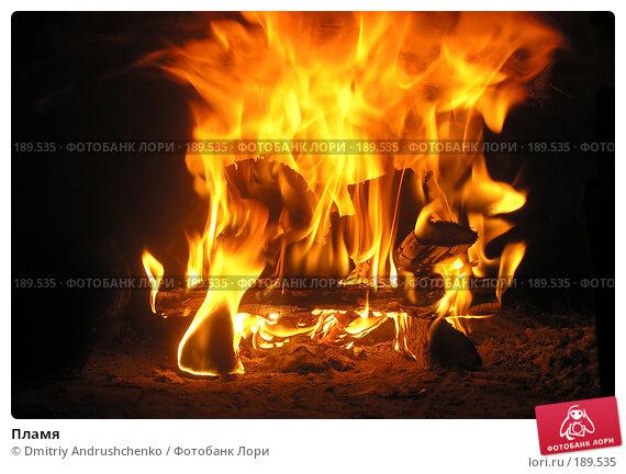 Пламя, фото № 189535, снято 20 августа 2006 г. (c) Dmitriy Andrushchenko / Фотобанк Лори