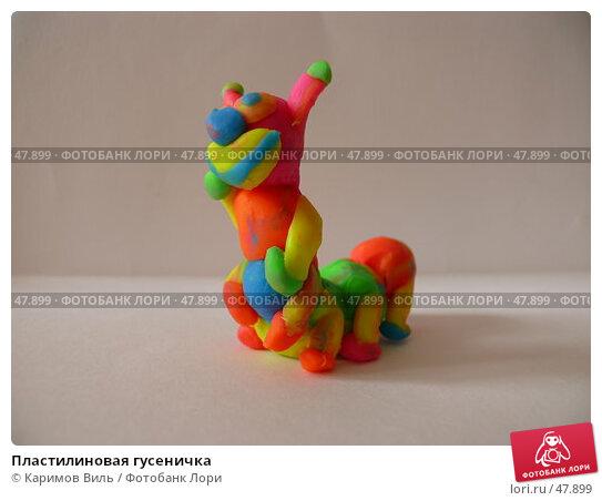 Пластилиновая гусеничка, фото № 47899, снято 29 мая 2007 г. (c) Каримов Виль / Фотобанк Лори
