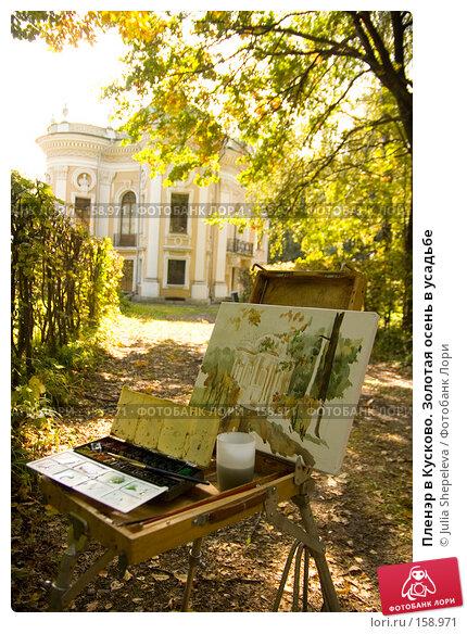 Пленэр в Кусково. Золотая осень в усадьбе, фото № 158971, снято 12 сентября 2007 г. (c) Julia Shepeleva / Фотобанк Лори
