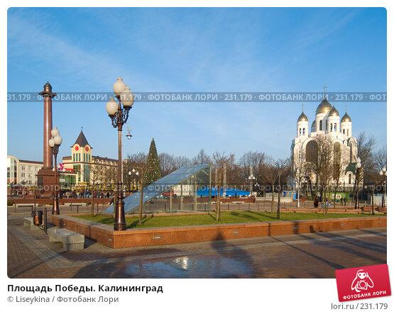Площадь Победы. Калининград, фото № 231179, снято 30 декабря 2007 г. (c) Liseykina / Фотобанк Лори