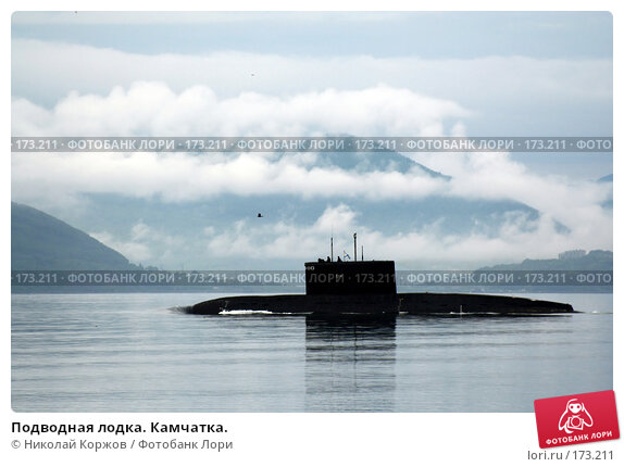 Подводная лодка. Камчатка., фото № 173211, снято 18 января 2017 г. (c) Николай Коржов / Фотобанк Лори
