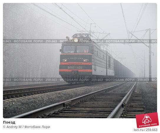 Поезд, фото № 259663, снято 9 апреля 2008 г. (c) Andrey M / Фотобанк Лори