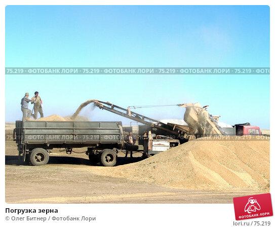 Погрузка зерна, фото № 75219, снято 20 сентября 2005 г. (c) Олег Битнер / Фотобанк Лори