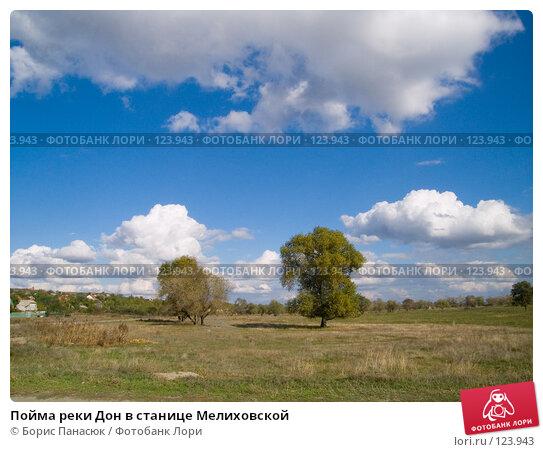 Пойма реки Дон в станице Мелиховской, фото № 123943, снято 11 сентября 2006 г. (c) Борис Панасюк / Фотобанк Лори