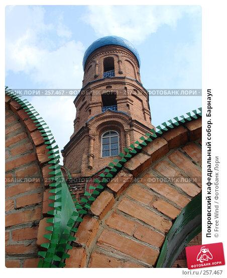 Покровский кафедральный собор. Барнаул, эксклюзивное фото № 257467, снято 12 июля 2007 г. (c) Free Wind / Фотобанк Лори