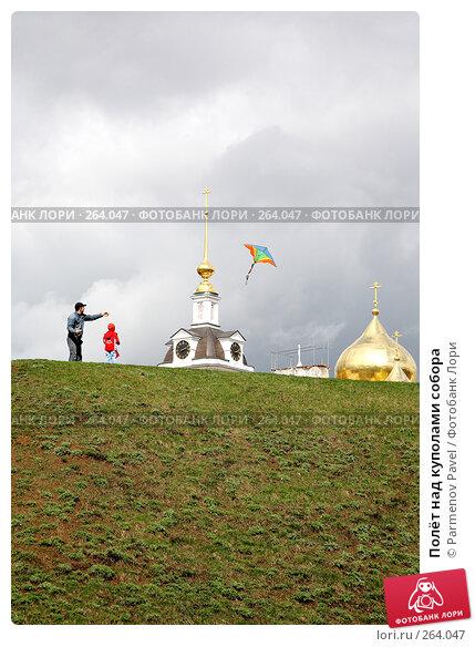 Купить «Полёт над куполами собора», фото № 264047, снято 19 апреля 2008 г. (c) Parmenov Pavel / Фотобанк Лори