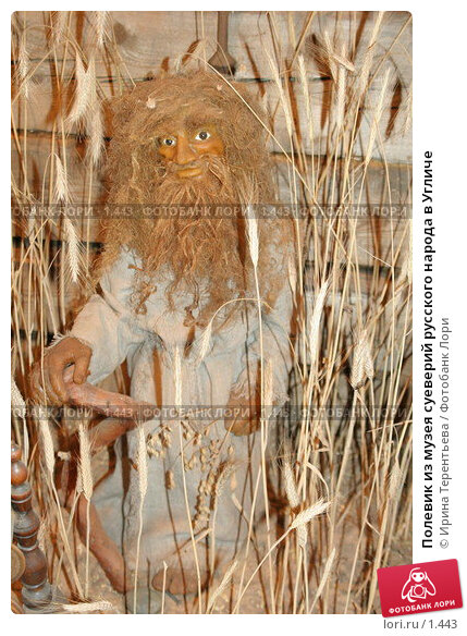 Полевик из музея суеверий русского народа в Угличе, эксклюзивное фото № 1443, снято 11 ноября 2005 г. (c) Ирина Терентьева / Фотобанк Лори